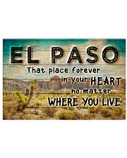 EL PASO THAT PLACE FOREVER IN YOUR HEART 17x11 Poster front
