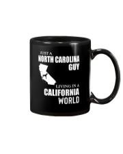 JUST A NORTH CAROLINA GUY LIVING IN CA WORLD Mug thumbnail