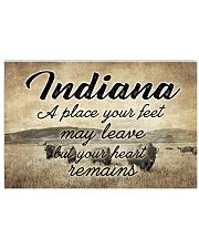 INDIANA YOUR HEART REMAINS 24x16 Poster front