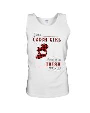 CZECH GIRL LIVING IN IRISH WORLD Unisex Tank thumbnail