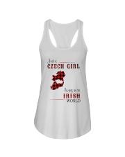 CZECH GIRL LIVING IN IRISH WORLD Ladies Flowy Tank thumbnail
