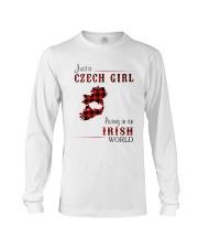 CZECH GIRL LIVING IN IRISH WORLD Long Sleeve Tee thumbnail