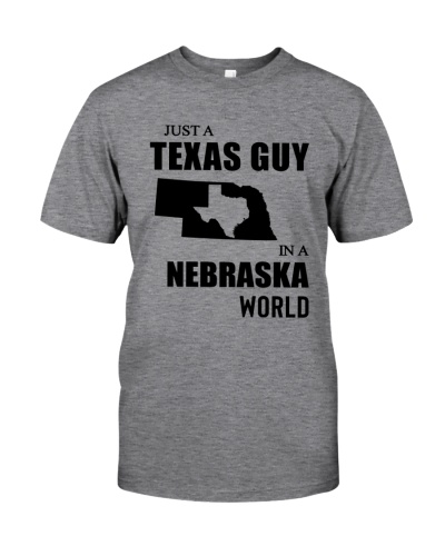 JUST A TEXAS GUY IN A NEBRASKA WORLD