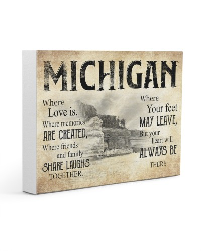 MICHIGAN WHERE YOUR FEET MAY LEAVE