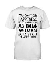 YOU CAN MARRY AN AUSTRALIAN WOMAN Classic T-Shirt thumbnail