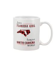 FLORIDA GIRL LIVING IN NORTH CAROLINA WORLD Mug thumbnail