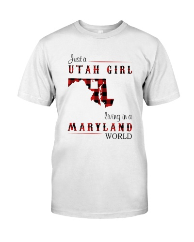 UTAH GIRL LIVING IN MARYLAND WORLD