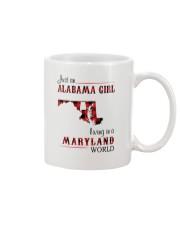 ALABAMA GIRL LIVING IN MARYLAND WORLD Mug thumbnail