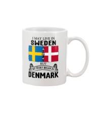 LIVE IN SWEDEN BEGAN IN DENMARK ROOT Mug thumbnail