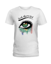 SOUTH AFRICAN EYES Ladies T-Shirt front
