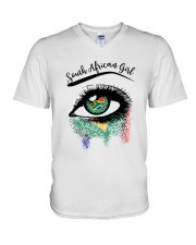 SOUTH AFRICAN EYES V-Neck T-Shirt thumbnail