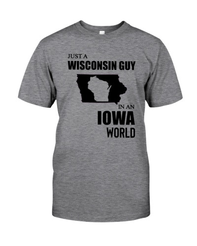 JUST A WISCONSIN GUY IN AN IOWA WORLD