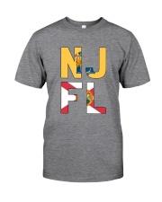 NEW JERSEY FLORIDA Classic T-Shirt thumbnail