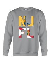 NEW JERSEY FLORIDA Crewneck Sweatshirt thumbnail