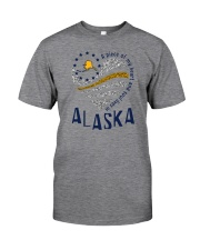 A PIECE OF MY HEART AND SOUL LIVES IN ALASKA Classic T-Shirt thumbnail