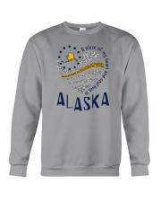 A PIECE OF MY HEART AND SOUL LIVES IN ALASKA Crewneck Sweatshirt thumbnail