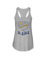 A PIECE OF MY HEART AND SOUL LIVES IN ALASKA Ladies Flowy Tank thumbnail