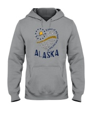 A PIECE OF MY HEART AND SOUL LIVES IN ALASKA Hooded Sweatshirt thumbnail