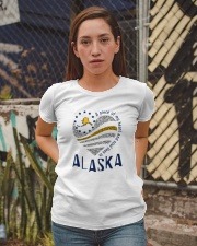 A PIECE OF MY HEART AND SOUL LIVES IN ALASKA Ladies T-Shirt apparel-ladies-t-shirt-lifestyle-03