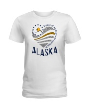 A PIECE OF MY HEART AND SOUL LIVES IN ALASKA Ladies T-Shirt front