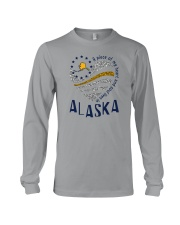 A PIECE OF MY HEART AND SOUL LIVES IN ALASKA Long Sleeve Tee thumbnail
