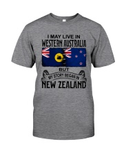 LIVE IN WESTERN AUSTRALIA BEGAN IN NEW ZEALAND Classic T-Shirt tile