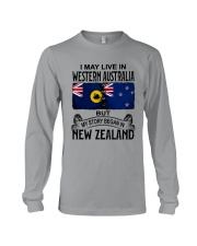 LIVE IN WESTERN AUSTRALIA BEGAN IN NEW ZEALAND Long Sleeve Tee thumbnail