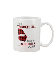 TENNESSEE GIRL LIVING IN GEORGIA WORLD Mug thumbnail