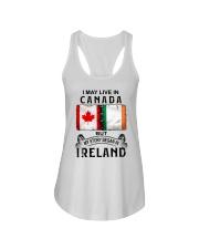 LIVE IN CANADA BEGAN IN IRELAND Ladies Flowy Tank thumbnail