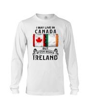 LIVE IN CANADA BEGAN IN IRELAND Long Sleeve Tee thumbnail