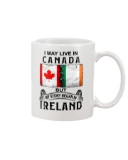 LIVE IN CANADA BEGAN IN IRELAND Mug thumbnail