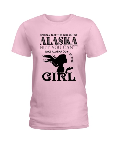 BUT YOU CAN'T TAKE ALASKA OUT OF THIS GIRL