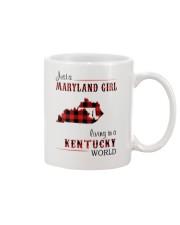 MARYLAND GIRL LIVING IN KENTUCKY WORLD Mug thumbnail