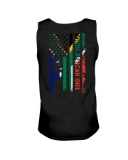 SOUTH AFRICAN GIRL AND FLAG Unisex Tank thumbnail