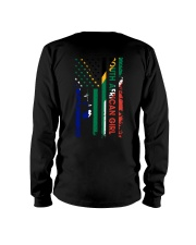 SOUTH AFRICAN GIRL AND FLAG Long Sleeve Tee thumbnail