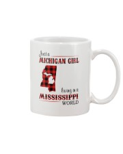 MICHIGAN GIRL LIVING IN MISSISSIPPI WORLD Mug thumbnail