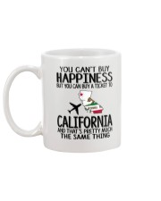 YOU CAN BUY A TICKET TO CALIFORNIA Mug back