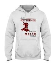 SCOTTISH GIRL LIVING IN WELSH WORLD Hooded Sweatshirt thumbnail