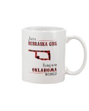 NEBRASKA GIRL LIVING IN OKALHOMA WORLD Mug thumbnail
