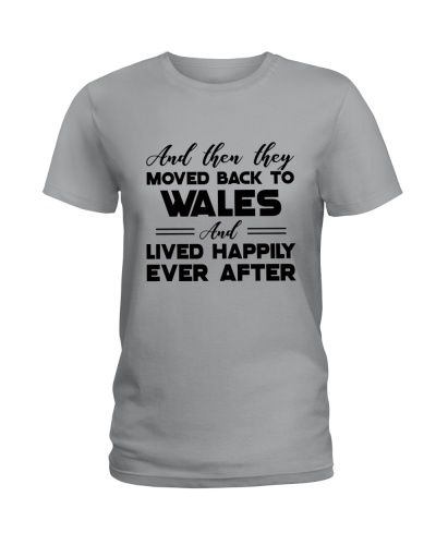 AND THEN THEY MOVED BACK TO WALES