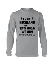 I'M THE HUSBAND OF A SOUTH AFRICAN WOMAN Long Sleeve Tee thumbnail
