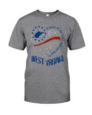 A PIECE OF MY HEART AND SOUL LIVES IN WV Classic T-Shirt thumbnail