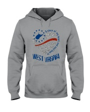 A PIECE OF MY HEART AND SOUL LIVES IN WV Hooded Sweatshirt thumbnail