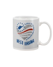 A PIECE OF MY HEART AND SOUL LIVES IN WV Mug thumbnail