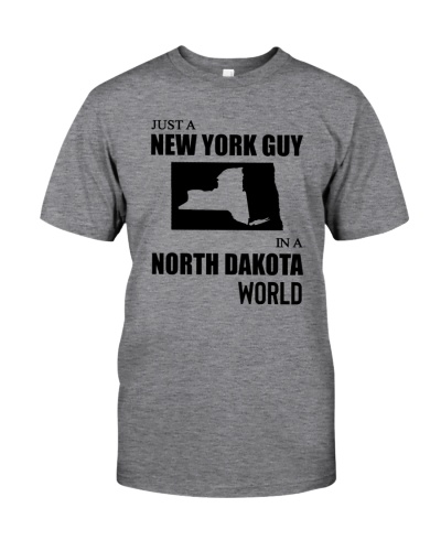 JUST A NEW YORK GUY IN A NORTH DAKOTA WORLD