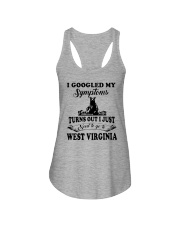 TURNS OUT I JUST NEED TO GO TO WEST VIRGINIA Ladies Flowy Tank thumbnail
