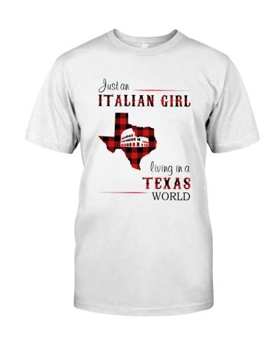 ITALIAN GIRL LIVING IN TEXAS WORLD