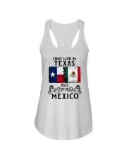LIVE IN TEXAS BEGAN IN MEXICO Ladies Flowy Tank thumbnail