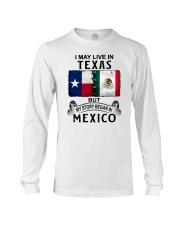 LIVE IN TEXAS BEGAN IN MEXICO Long Sleeve Tee thumbnail