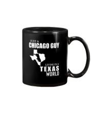 JUST A CHICAGO GUY LIVING IN TEXAS WORLD Mug thumbnail